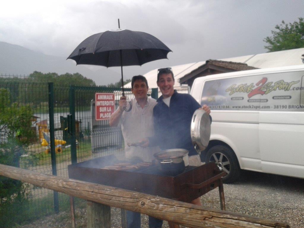 Album Barbecue et fin de Nettoyage du Lac 2016