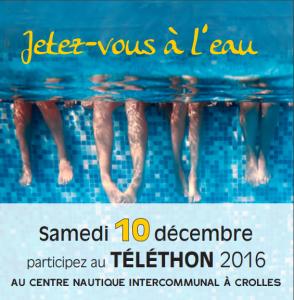 Téléthon 2016 La Terrasse Plongée