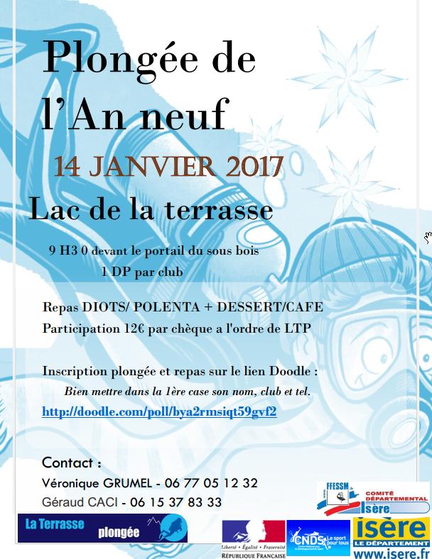 Plongée an neuf 2017 La Terrasse Plongée